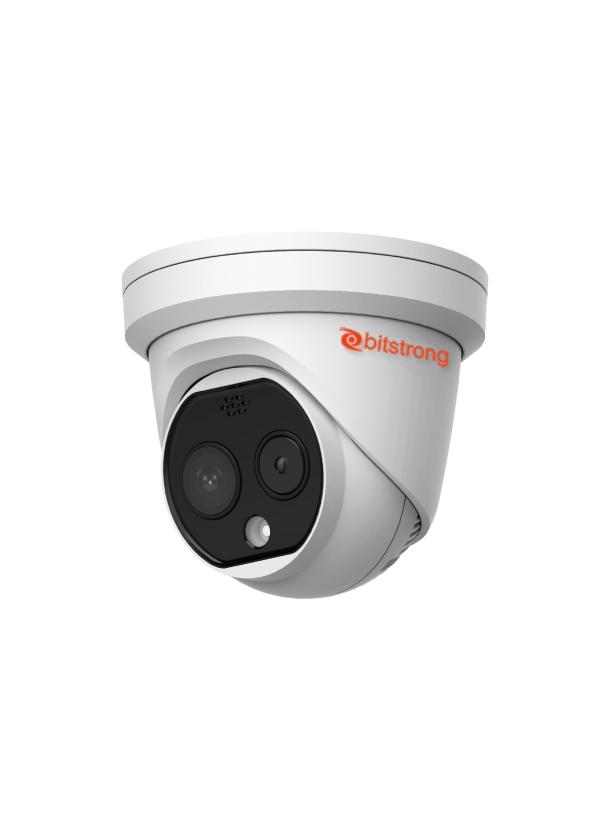 体温測定サーモグラフィー 監視カメラ型タレットタイプ BS-2TD1217B
