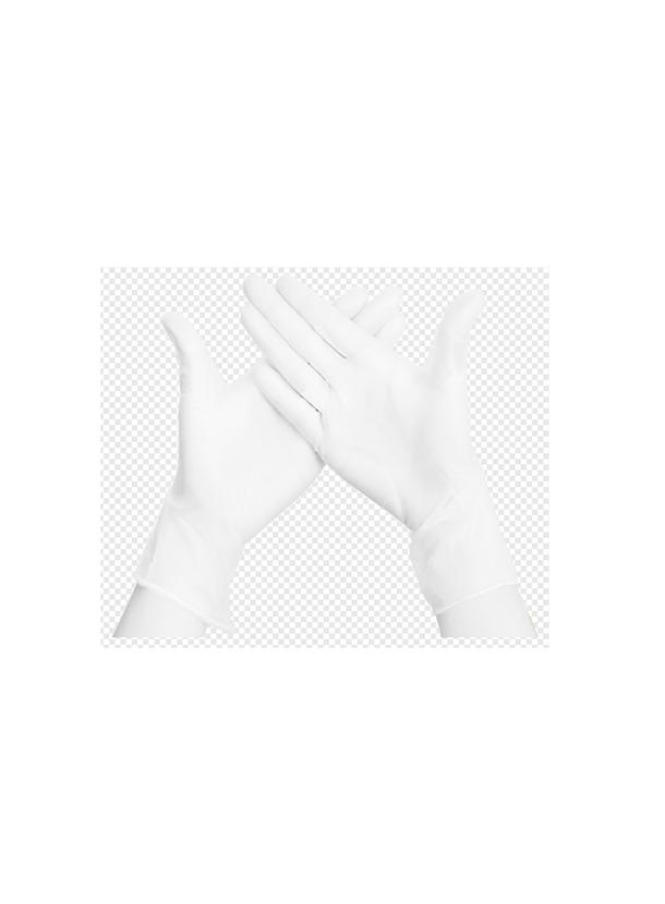 ビニール製実験用手袋