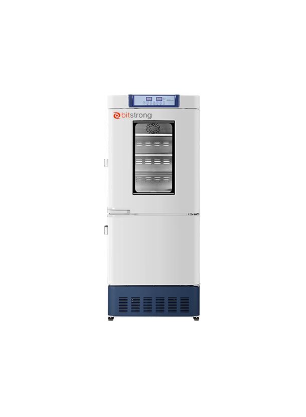 -40℃~-20℃/2~8℃ フリーザー/冷蔵庫一体型 HYCD-282A